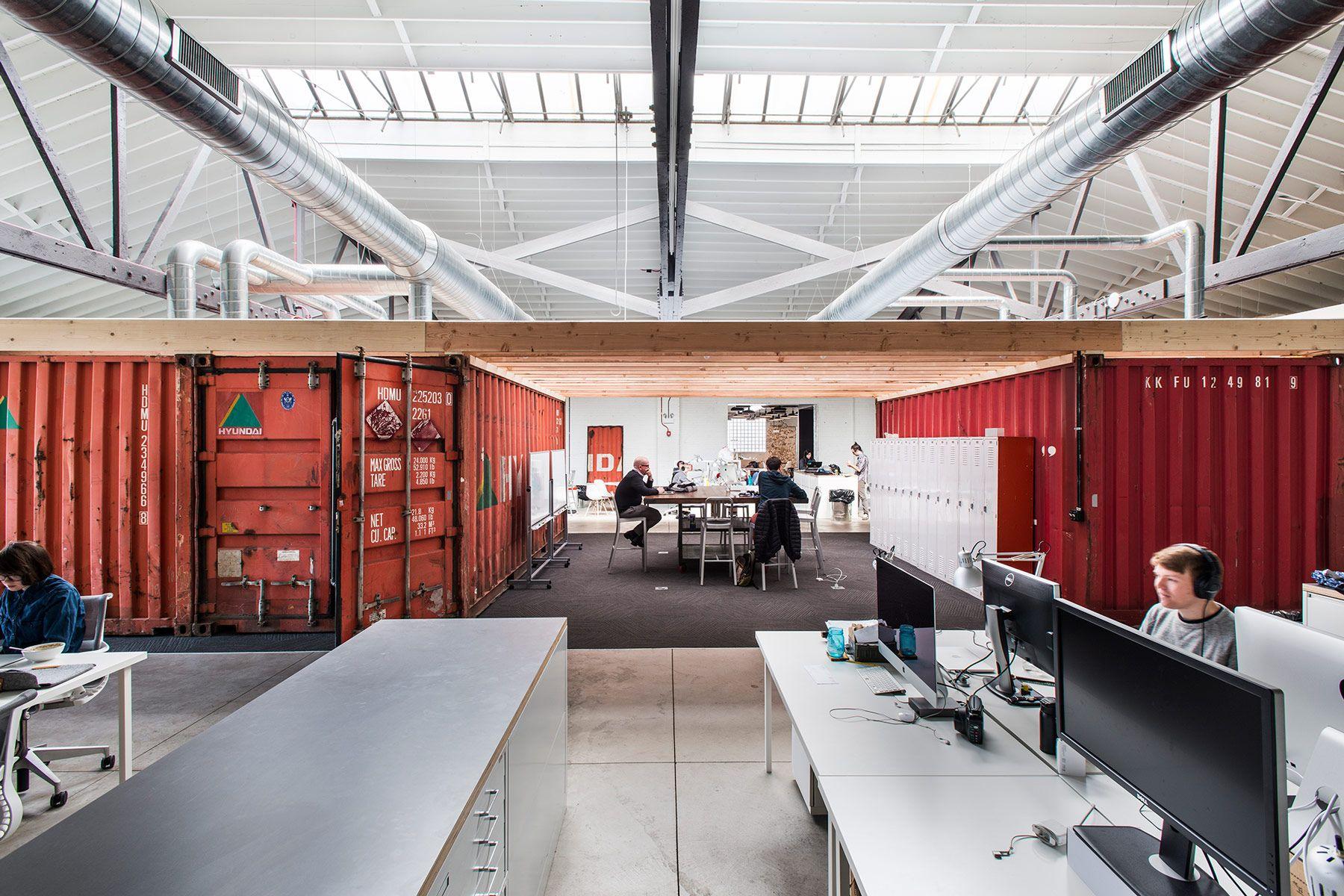 Del mar a la oficina: contenedores para oficinas