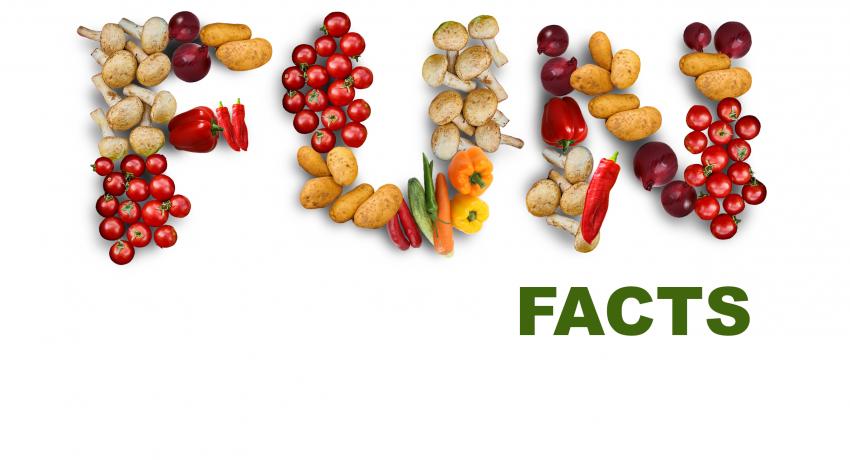 7 datos curiosos de alimentos