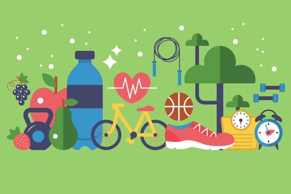 10 hábitos saludables de personas en forma