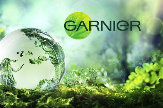 Campaña de sustentabilidad de Garnier