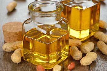 cuidado de la piel con aceite de maní