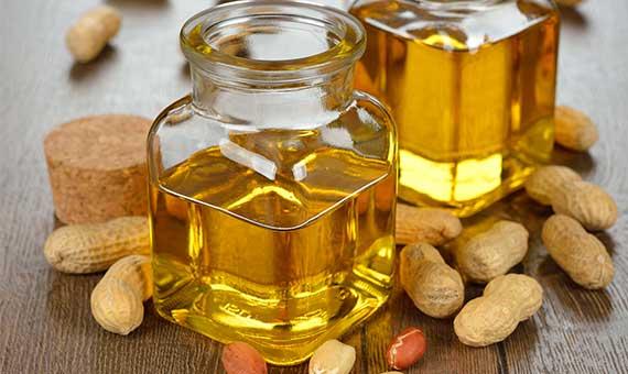 El cuidado de la piel con aceite de maní