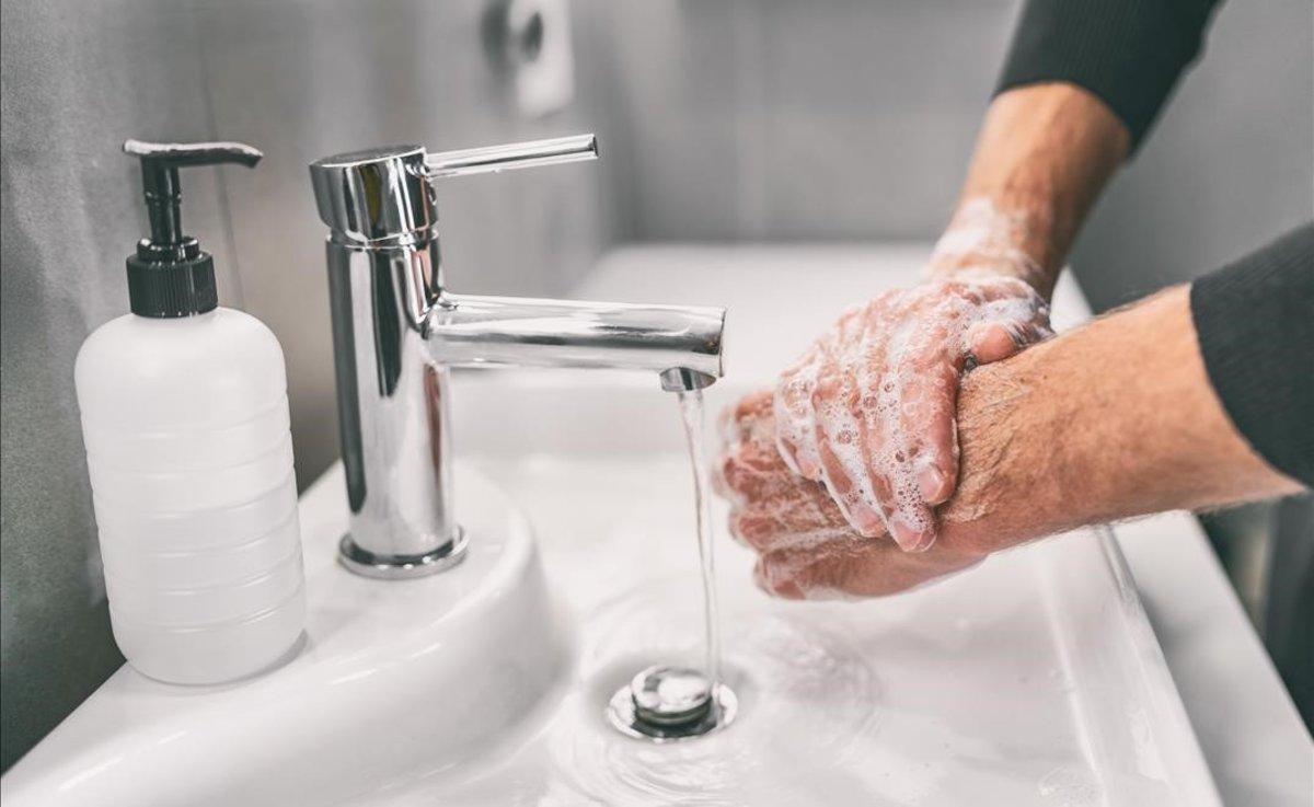 Método para lavarte las manos