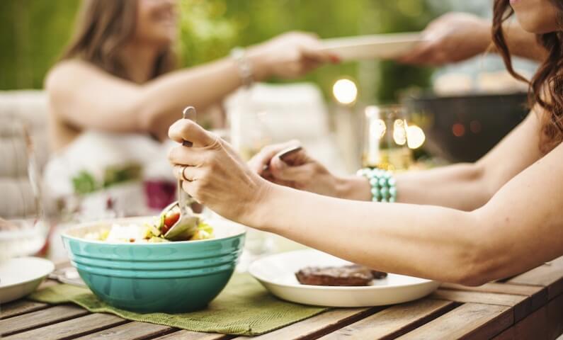 Comer saludable y disfrutarlo