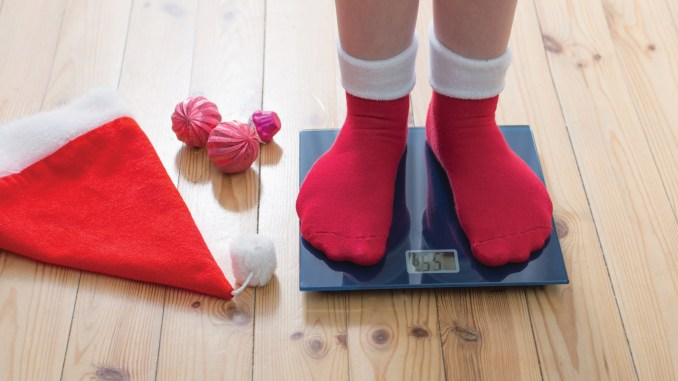 Mantener un peso saludable en navidad