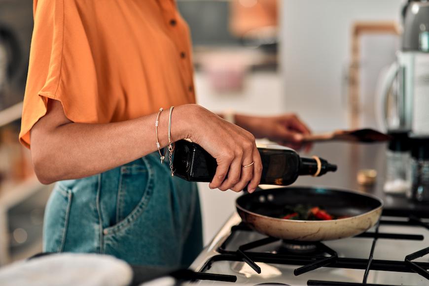 ¿El aceite vegetal una buena opción para cocinar a diario?