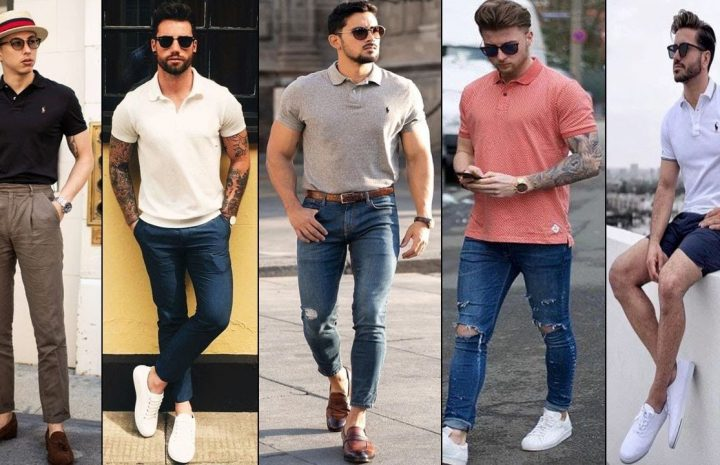 ¿Cómo llevar una camisa polo?