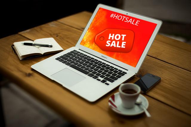 Logo de Hot Sale en el PC