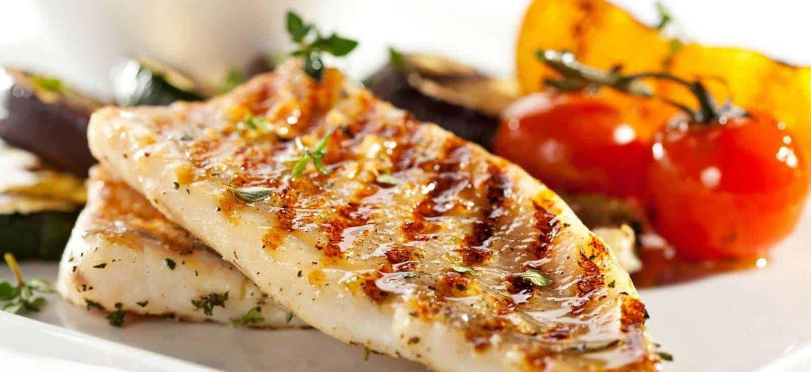 Platillo con pescado